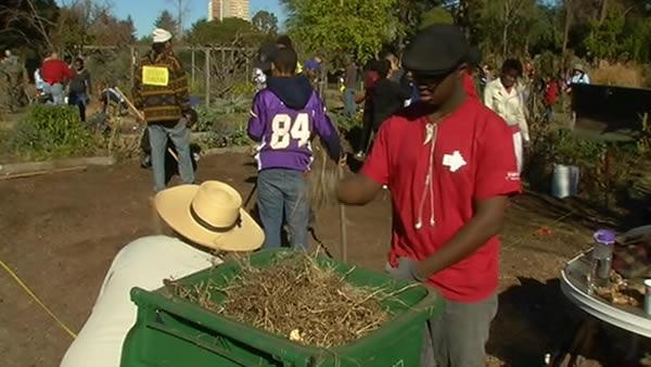 All ages unite for day of service