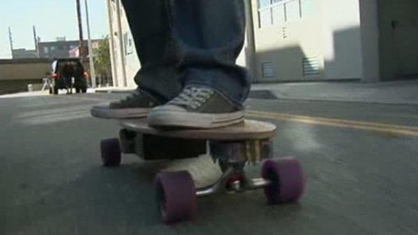 Electronic skateboards take to SF streets