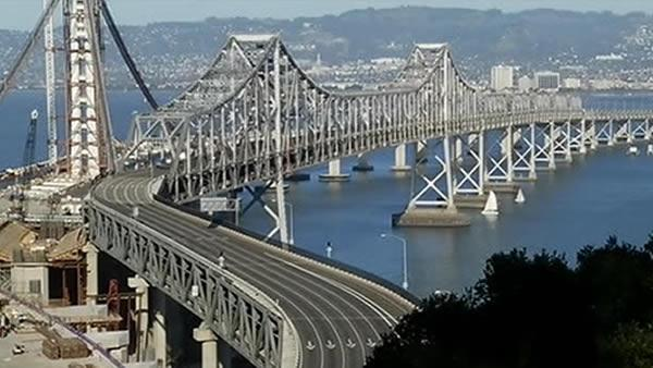 Bay Bridge reopens early Sunday evening