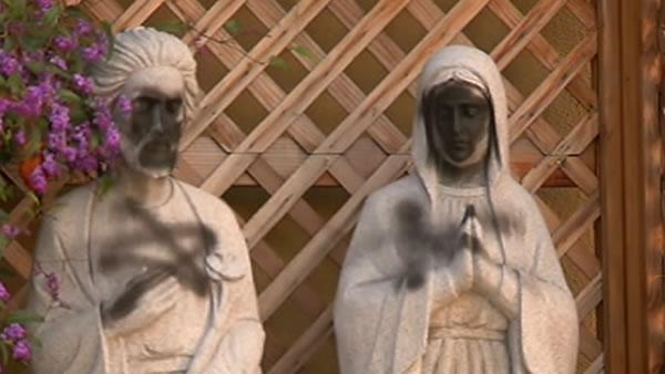 Vandalism shocks Union City Catholic church
