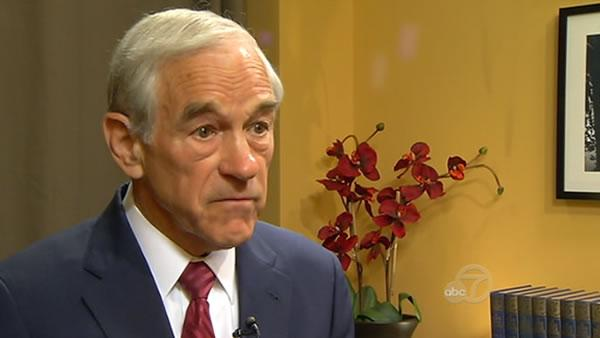 Ron Paul visits Bay Area, speaks at Berkeley