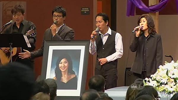 Service held to honor Grace Kim