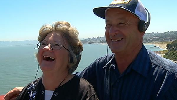 Golden Gate Bridge replica builder honored in SF