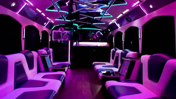 Community meets over 'party bus' problems