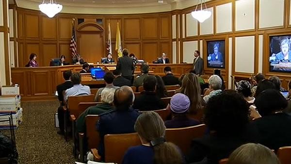 Mirkarimi supporters show up on Day 1 of hearing
