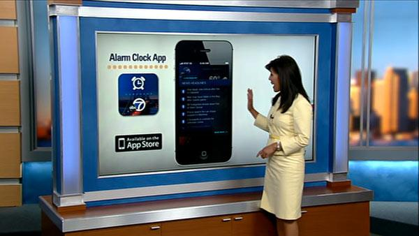 ABC7 News Alarm Clock app now available