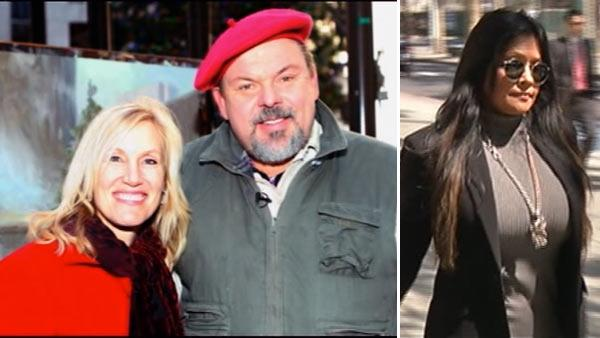 Kinkade's widow and girlfriend expected back in court