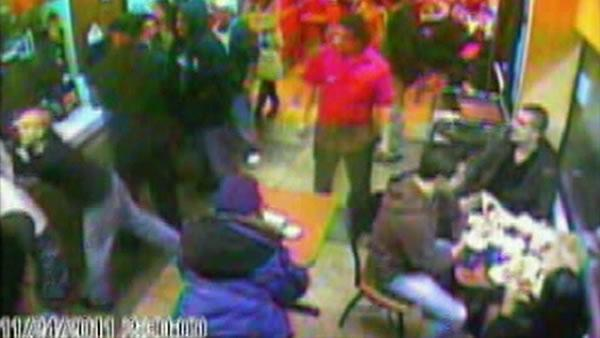 Surveillance video released of SF fight