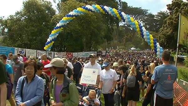 000 people participate in AIDS Walk SF