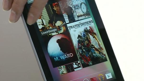 A look at Google's Nexus 7 Tablet