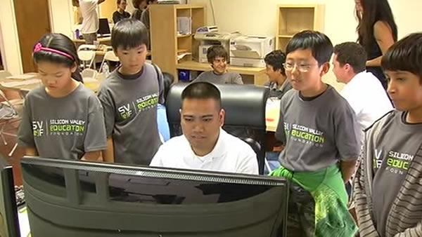 Kids learn what it takes to create computers