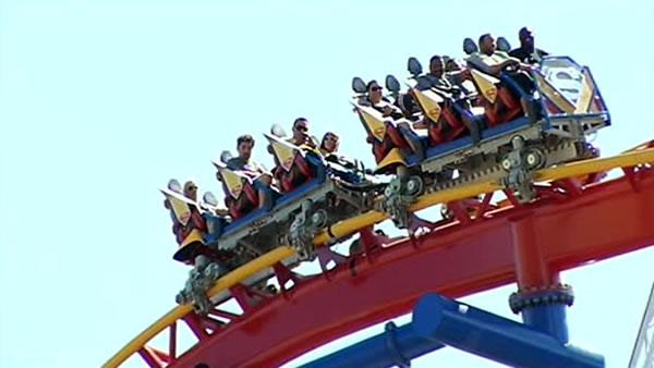 Riders stuck on Superman ride discuss ordeal