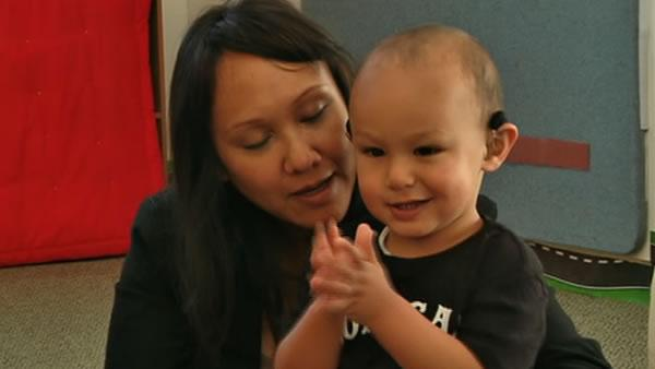 Preschool for deaf children showing great success