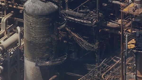 Chevron fire investigation focuses on corrosion