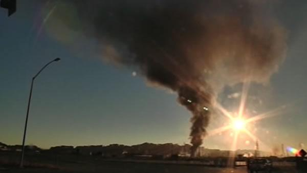 Officials update public on Chevron fire investigation