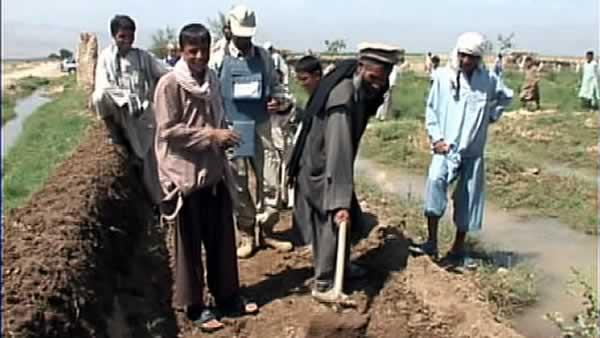 Roots of Peace contracted to help Afghan farmers