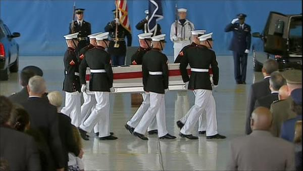 Remains of four Americans killed in Libya returned home