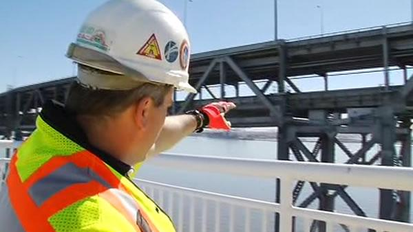 Caltrans shows us inside new span of Bay Bridge