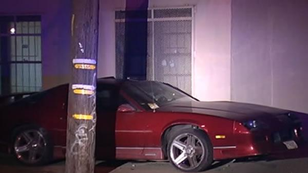 Oakland officer shot in leg after hit-and-run