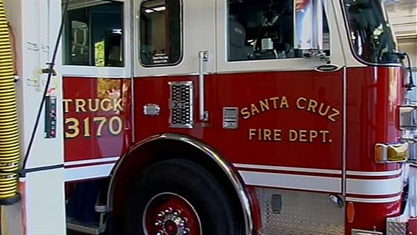 Santa Cruz firefighters lauded for bravery during gunfight