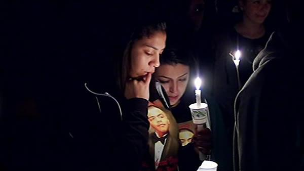 Hundreds gathered to honor Campbell murdered teen