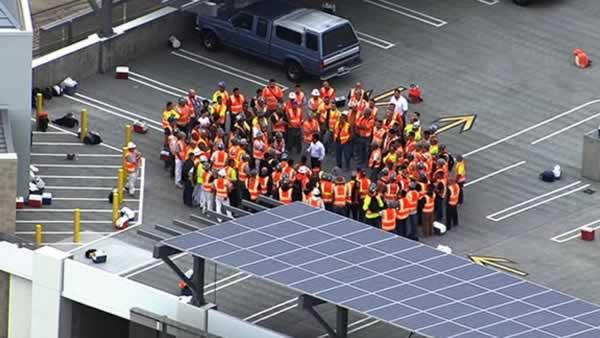 Halted after worker s death family mourns worker killed at 49ers