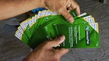Green Dot MoneyPack cards