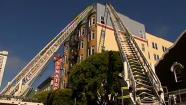Tenderloin apartment building roof fire