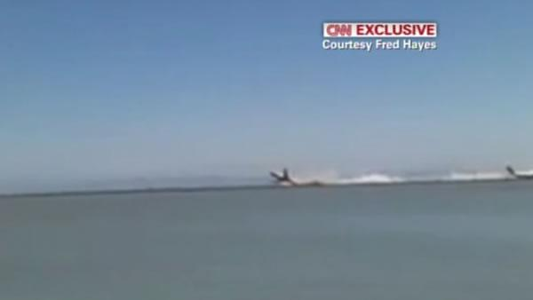 Video show Asiana Flight 214 crash at SFO