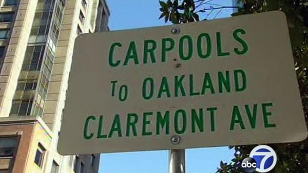 BART riders turn to casual carpools during strike