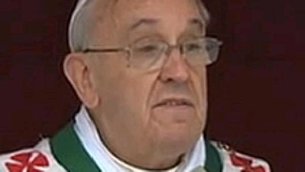 Pope celebrates family weekend with mass