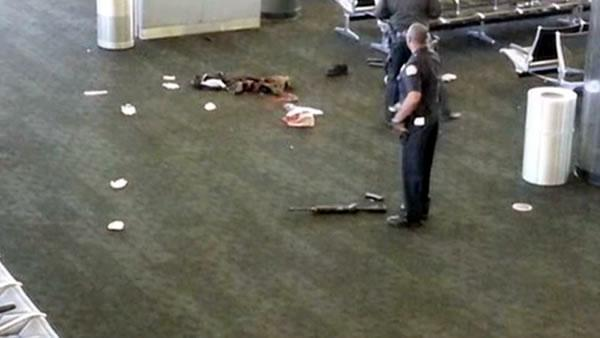 Gunman kills TSA agent at LAX, wounds 3 others