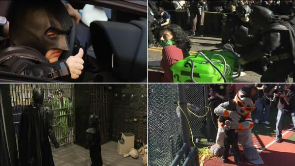 Best of Batkid's San Franciso Adventures