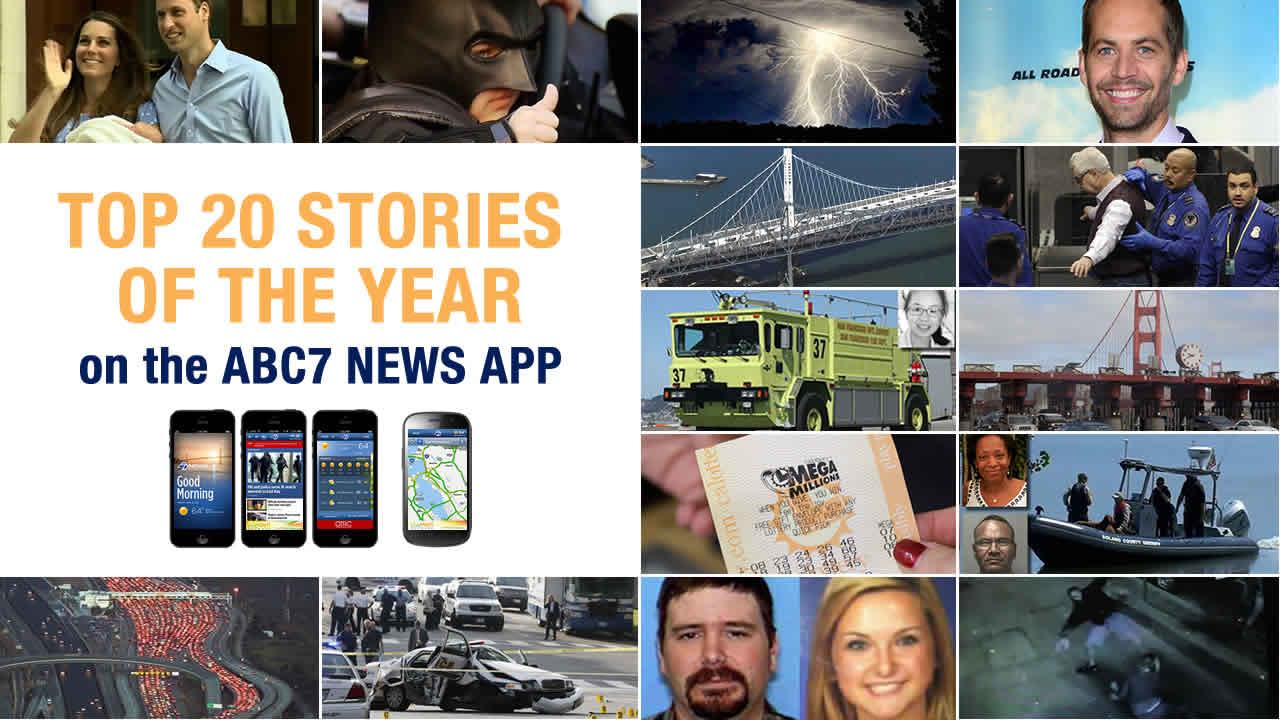 top stories on ABC7 News App