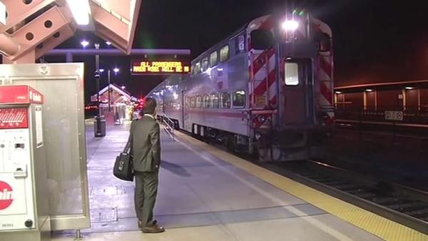 Service recovering after 2 people hit by Caltrain