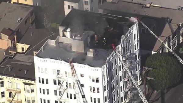 Residents unable to return home after SF fire