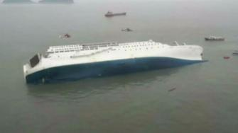 Korea ship sinking