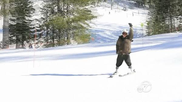 Disabled skier hopes to inspire others