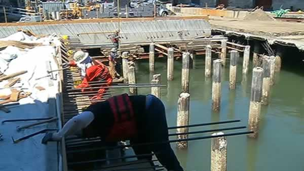 New Exploratorium site has underwater challenges