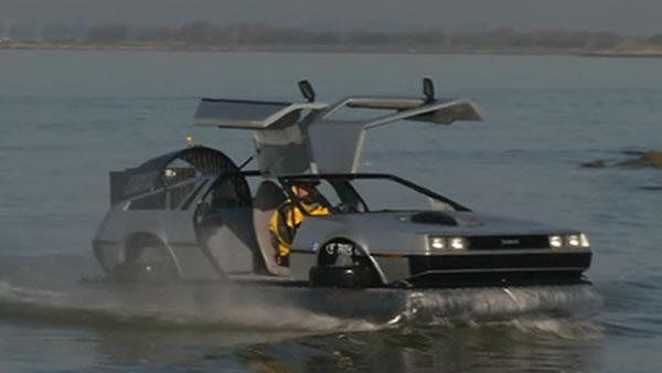 Man hopes DeLorean hovercraft will lead to job