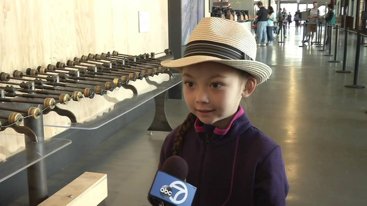 A 5-year-old girl became the Exploratoriums one-millionth visitor on Tuesday morning.