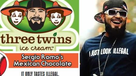 San Francisco Giants pitcher Sergio Romo wants to raise money for immigration reform and hes doing it through his own ice cream flavor.