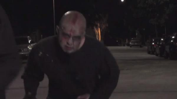 LAPD uses zombies to warn about car safety