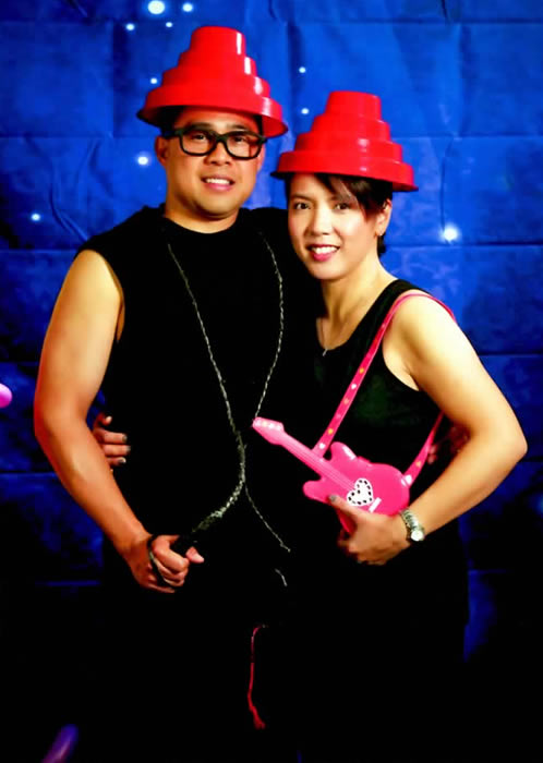 "DEVO ""WHIP IT"" CHARACTERS - worn at local 80s-themed birthday party, April 2011."