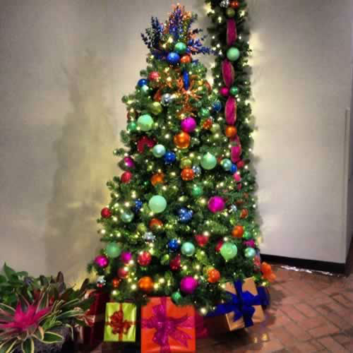 Check out this beautiful pic of the Christmas tree in @Rafael415's office lobby! Send ABC7 your holiday pics using #abc7holiday! (Pic submitted via Instagram)