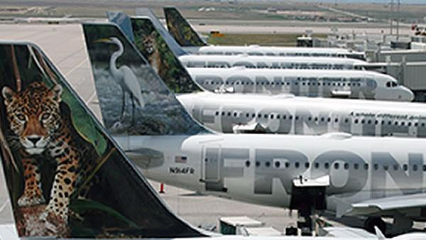 Frontier Airlines Holding Inc. files for bankruptcy protection, but plans to continue service.(AP)