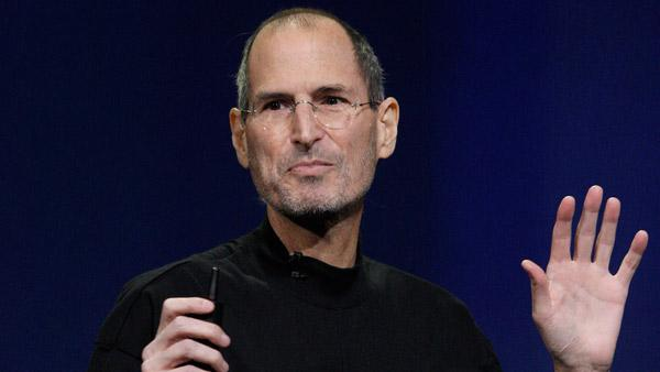 Apple Inc. Chairman and CEO Steve Jobs speaks at an Apple event at