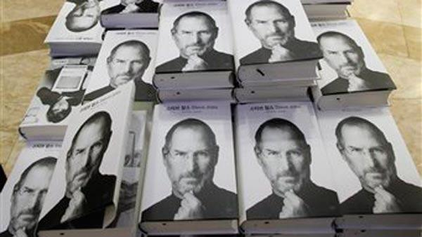 Authorized biography of Steve Jobs released today