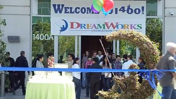 DreamWorks opens new campus in Redwood City