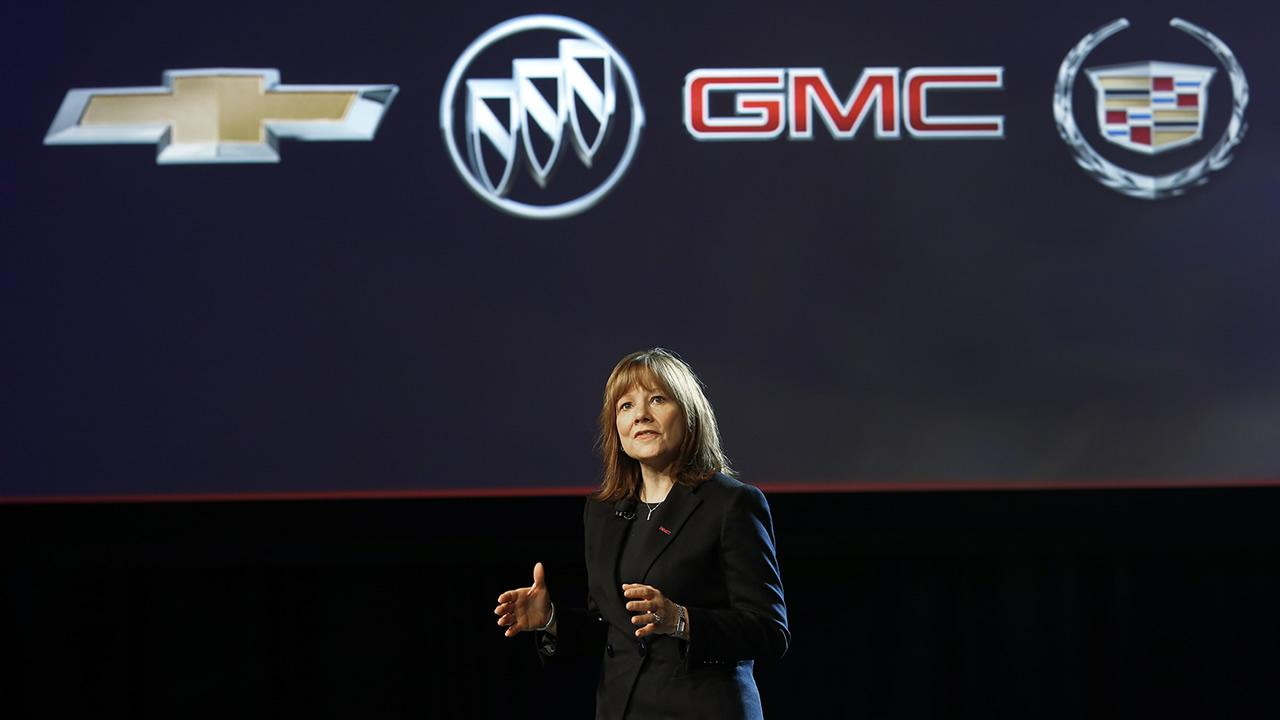 New GM CEO Mary Barra